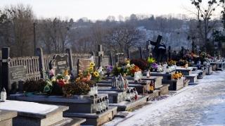2016.12.24 - Wigilia, cmentarz parafialny w Grabowcu