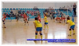 2009.03.05 Powiatowa Gmimnazjada w piłce siatkowej dziewcząt
