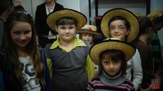 2011.11.24 Wizyta dzieci z Tuczęp w GOK Grabowiec