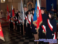 2008.05.09 X Rocznica nadaniaimienia ZS w Grabowcu