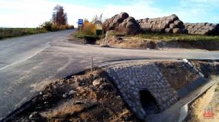 2013.11.03 Budowa drogi do Dańczypola