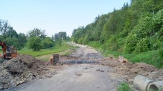 2017.05.31 - Budowa drogi do Bronisławki